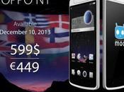 OPPO disponibile Europa Dicembre 449€