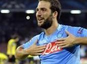 Serie Lazio Napoli 2-4, doppietta Higuain