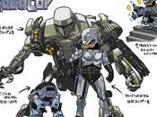Predator, Robocop altri film ridisegnati stile manga