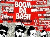 reggae salentino Boom Bash Rising Love Roma, sabato dicembre 2013.
