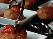 Polpettine Prosciutto Crudo Salsa Pomodoro Basilico