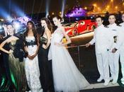 Giada Curti all'anteprima mondiale della Lamborghini Veneno Roadster
