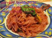 FracooksJamie: Betroot tagliatelle with pesto mussels, Mascarpone cream Telefilm segnano vita