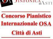 """I° Concorso Pianistico Internazionale """"OSA Città Asti"""" gennaio 2014."""