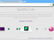 Spotflux Safe Browsing, gratis Google Chrome navigare anonimi internet