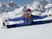 Yoga sulla neve Saint Moritz