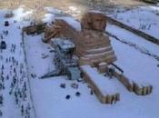 EGITTO Sotto neve dopo anni