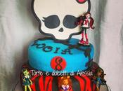 Monster high party: torta biscotti paura!