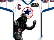 Star Wars, maglie speciali Hockey