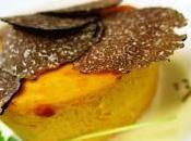 Flan zucca Hokkaido crema stracchino tartufo nero
