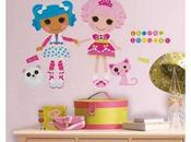 Lalaloopsy Peel Stick Giant Wall Decals