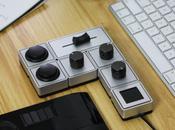 """Palette: nuovo sistema ghiere, slider, pulsanti """"fisici"""" modulare"""