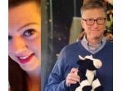 Bill Gates Babbo Natale alla riffa Reddit (Foto)