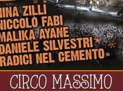 Malika Ayane, Niccolò Fabi, Radici Cemento, Daniele Silvestri Nina Zilli capodanno Roma 2014.
