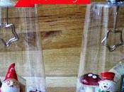 Lavoretti Natale bicchieri plastica, pupazzi fantasia!