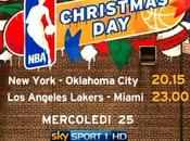 Christmas Day, Sport diretta partite basket