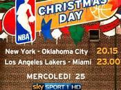 Christmas Day, Sport diretta partite basket