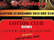 `Time Soul Band` festeggiare 2014 Cotton Club Roma.