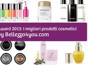 migliori prodotti cosmetici recensiti 2013: #award #Bellezza4you