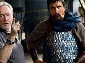 nuovo scatto Christian Bale panni Mosè dietro quinte Exodus