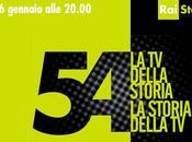 """Storia """"Rai 54"""", dalla storia della alla"""
