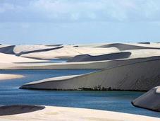 "BRASILE: L'incredibile deserto ""allagato"" Lençois Maranhenses"