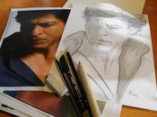 """Another drawing """"beloved"""" Shahrukh Khan"""