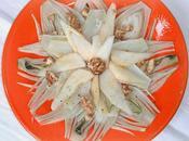 Candida insalata stagione finocchi, pere noci