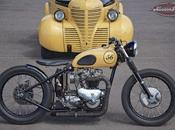 Foundry Motorcycle Triumph Tiger T110 1956 Bobber
