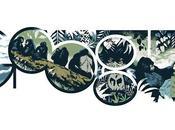 Google dedica primo doodle 2014 alla zoologa Dian Fossey