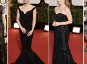 Golden Globes 2014: sfilata abiti neri