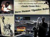Steve Norman Spandau Ballet sabato marzo 2014 unica data Napoli.Non Mancare!Claudio Ciccone Bros.Dj Set.