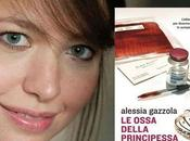 """ALESSIA GAZZOLA, ospite """"Letteratitudine venerdì gennaio 2014 circa)"""