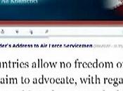 Zarif mente ancora: khamenei ufficialmente negazionista disprezza tutto l'occidente. ecco prova