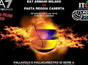 basket incontra volley Mediolanum Forum