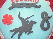 Tanti auguri Eugenio!!! Questa torta Zorro
