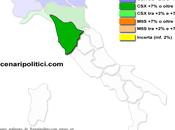 Sondaggio SCENARIPOLITICI gennaio 2014): TOSCANA, 44,8% (+18,8%), 26,0%, 22,3% primo meglio delle Politiche lieve calo. Crescono M5S, Forza Italia Lega Nord