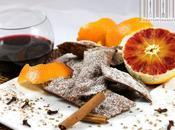 Bugie cacao chiacchiere grandi: (bugie vino rosso speziato, arancia cacao)