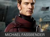 Michael Fassbender Magneto nell'artwork promozionale X-Men: Giorni Futuro Passato