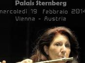 Appuntamento musicale flautista Luisa Sello Vienna, Febbraio 2014.