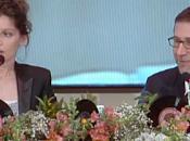 """Sanremo 2014: Leone: """"Non consentiremo Grillo interruzioni"""". Fazio: """"Laetitia Casta fascino rende unica"""" (Ansa)"""