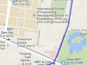 passeggio Bangkok tempi delle proteste