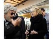 """Sanremo, Littizzetto incontra finto Grillo: """"Questo almeno sputa"""" (foto)"""