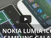 Nokia Lumia Icon confronto Samsung Galaxy