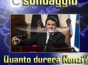 Sondaggio, quanto durerà governo Renzi?