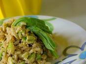 green! Riso integrale, sedano avocado