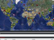 incredibile mappa disastri avvengono mondo tempo reale.