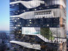 nuovo concetto grattacielo Parigi