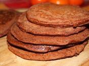 Pancakes integrali cioccolato