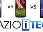 Confronto Galaxy Sony Xperia